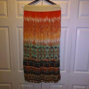 Maxi skirt. Size XL